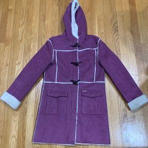 Ladies Winter Jacket Coat- Purple Color Medium, 8